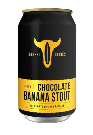 Barrel Aged Chocolate Banana Stout - 4PK