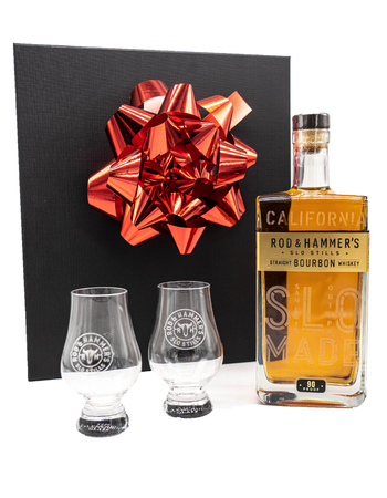 Straight Bourbon & Glencairn Gift Box