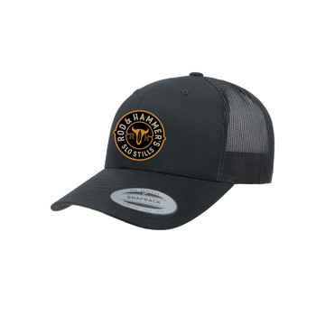 Medallion Patch Hat - Black