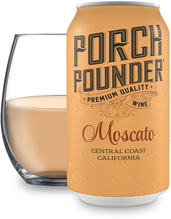 Porch Pounder Moscato 375ml - 12PK
