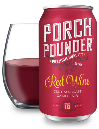 Porch Pounder Red 375ml - 12PK