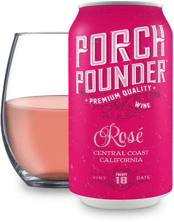 Porch Pounder Rosé 375ml - 12PK