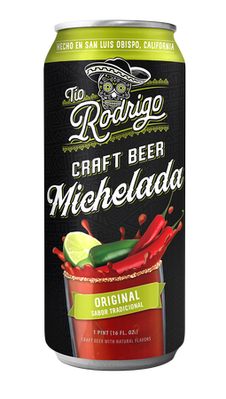 Tio Rodrigo Original Michelada 16oz
