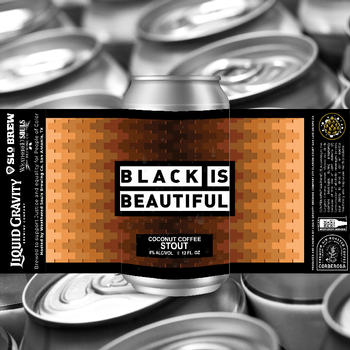Black is Beautiful 12oz - 4PK