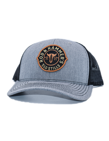 Medallion Patch Hat - Grey