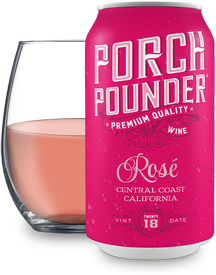 Porch Pounder Rosé 375ml - 24PK
