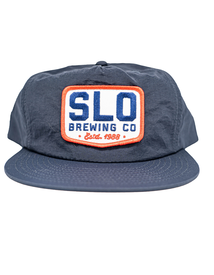 SLO Brew Patch Hat - Blue
