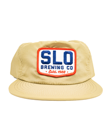 SLO Brew Patch Hat - Tan