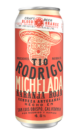Tio Rodrigo Blood Orange Michelada 16oz - 24PK